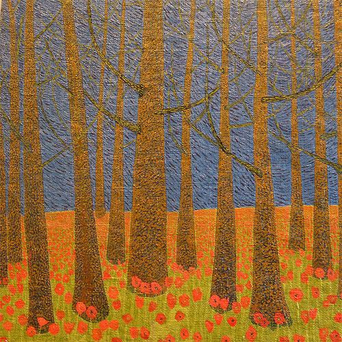 Poppies in the Wood