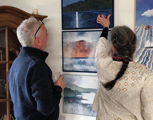 Judy Evans Exhibition